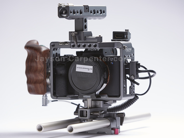 Rent: A7s II with Tilta with 7 Batteries and AC charger!