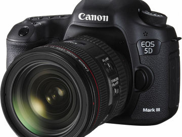 Rent: Canon 5D Mark III DSLR Camera Kit