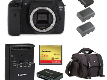 Rent: Canon 7D (w/ Batteries, Card, Reader)