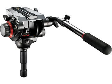 Rent: Manfrotto 504HD Video Fluid Head w/ Carbon Fiber 536 Tripod