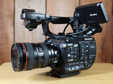 Rent: Sony FS5 Package with Lenses, Tripod, and Atomos Recorder
