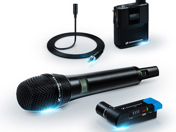 Rent: Sennheiser AVX Digital Wireless Handheld