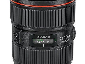 Rent: Canon 24-70/2.8L Version 1