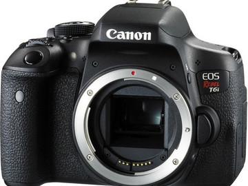 Rent: Canon Rebel T6i