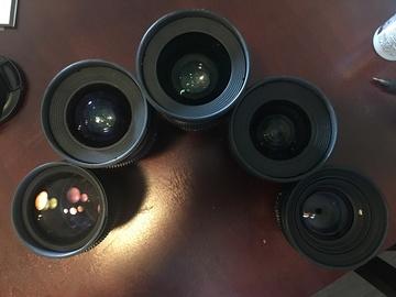 Rokinon Cine De Lens KIT