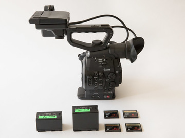 Rent: Canon C300 EF Dual Pixel - Body Only