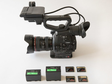 Rent: Canon C300 EF Dual Pixel Basic Kit