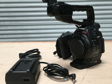 Rent: Canon Cinema EOS C100-EF Mount Kit