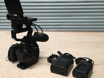 Rent: Canon Cinema EOS C300 Kit