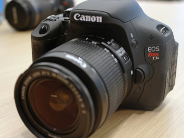 Rent: Canon Rebel T3i DSLR Camera