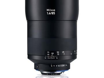 Rent: Zeiss Milvus 85mm