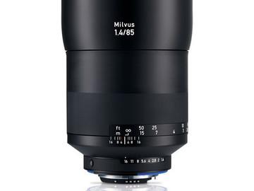 Rent: Zeiss Milvus 85mm