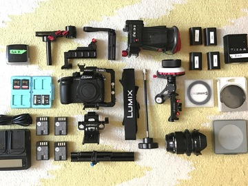 Rent: Panasonic GH5 - PRODUCTION KIT