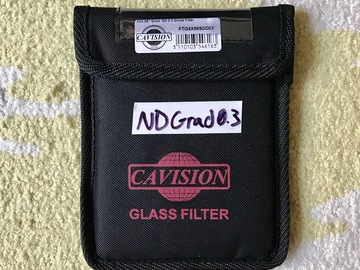 Rent: Cavision Soft-Edge Grad-ND 0.3 Filter (4x5.65)
