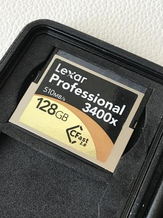 Lexar Professional 3400x 128GB CFast 2.0 Card (7 avail.)