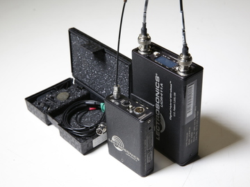 Rent: Lectrosonics 411 Receiver/Transmitter with Tram mic kit