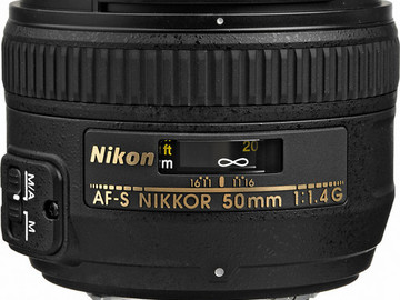 Rent: Nikon AF-S NIKKOR 50mm f/1.4G Lens