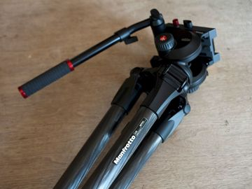 Rent: Manfrotto Carbon Fiber Tripod - 504HD Head w/536 legs