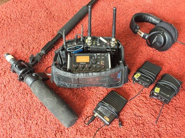 Rent: Total Sound Kit! - 3 Wireless Mics, Boom Mic, Field Recorder