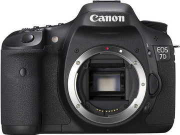 Rent: Canon EOS 7D Digital SLR (Body Only)