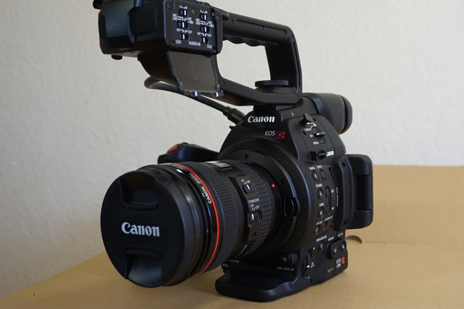 Canon C100 Mark II with EF 24-105 Lens
