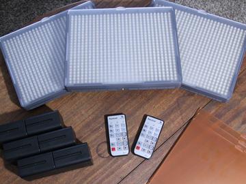 Rent: Aputure HR672 (3 Light Kit)