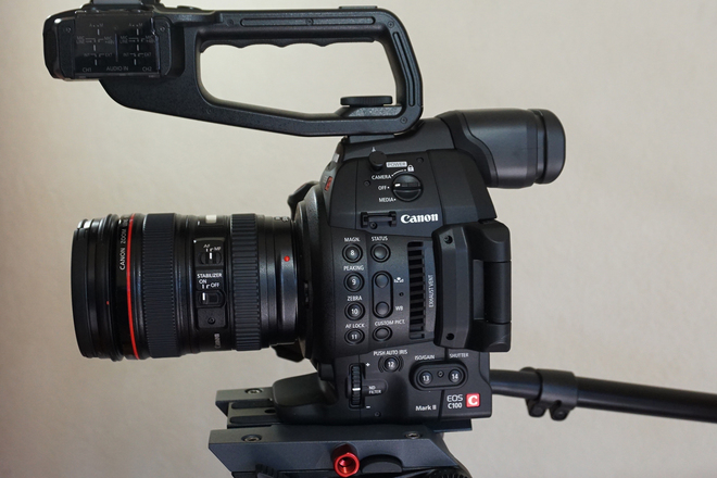 C100 Mark II Doc Package Lite (Lens/Tripod/Mic)