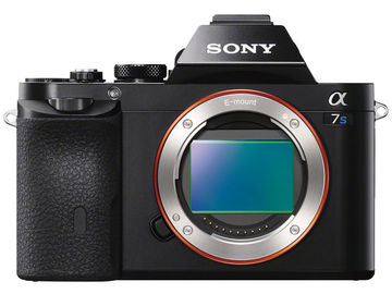 Sony A7s camera with Metabones Adaptor E to EF mount