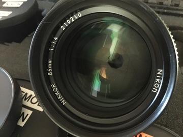 Rent: Vintage Nikon Prime lens set (7 lenses) Cinevised w EF Mount