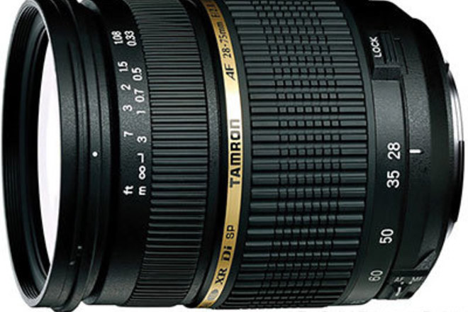 Tamron 28-75mm f/2.8 for Canon EF and EF-S