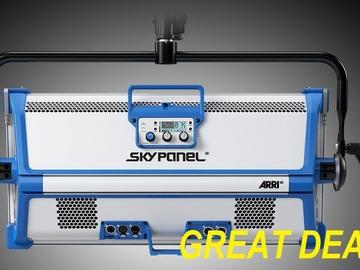 Rent: Arri Skypanel S60c w CHIMERA & FAB GRID
