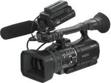 Rent: SonyHVR Z1U HD Camcorder, Batts, Charger,  Uses Digital Tape