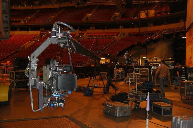 """18"""" JimmyJib Triangle Arm,OffroadBase, Mitchell Camera Mt."""