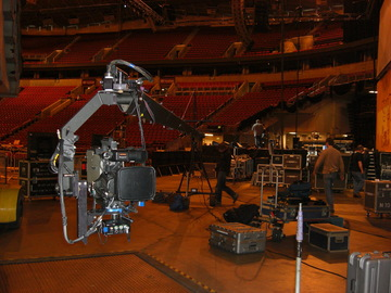 "Rent: 18"" JimmyJib Triangle Arm,OffroadBase, Mitchell Camera Mt."