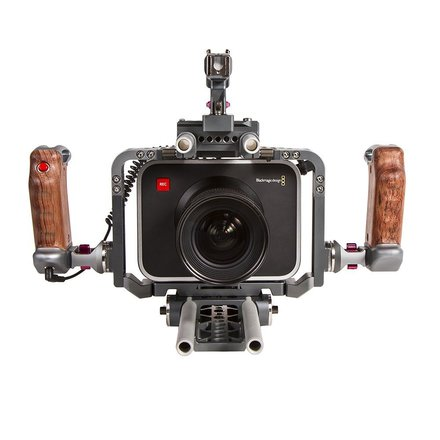 Black Magic Production Camera with/Ikan Cage