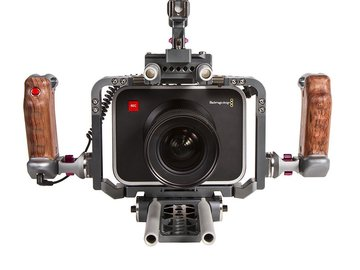 Black Magic Production Camera with/Ikan Cage