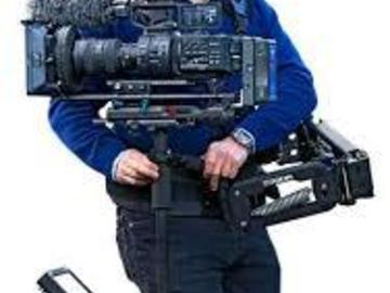Rent: Steadicam Flyer Made By Tiffen, custom rig.