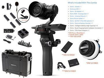 Rent: DJI Osmo RAW SUPER Combo ALSO INCLUDES CAMRISE LANYARD AND U