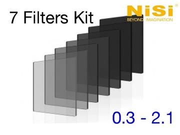 Rent: 4x5.65 NiSi Nano IRND Set + Pola/Clear/Grad