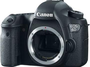 Rent: Canon 6D DSLR Camera (Body-only)