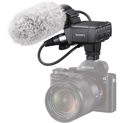 Sony XLR-K2M XLR Adapter Kit with Shotgun Mic