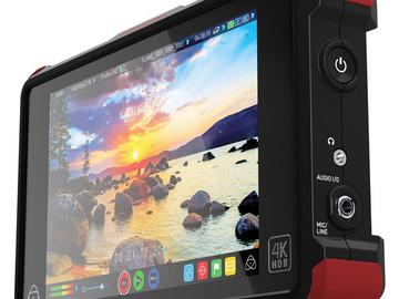 "Rent:  Atomos Ninja Flame 7"" 4K HDMI Recording Monitor Full Kit"