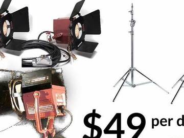 Rent: Three-Point Mole Lighting Package