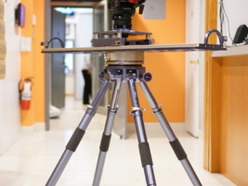 Rent: Cineped X-9 – 3.5 Slider with Quad Stand