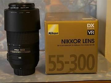 Rent: Nikon 55-300 Zoom Lens