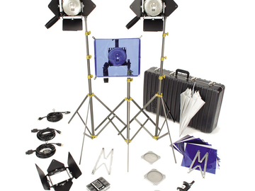 Lowel Omni 3-Light Kit with Case and Accessories