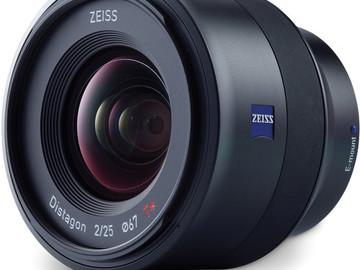 Rent: Zeiss Batis 25mm 2.0 SONY E-MOUNT