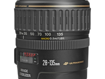 Rent: Canon EF 28-135mm f/3.5-5.6 IS USM Lens
