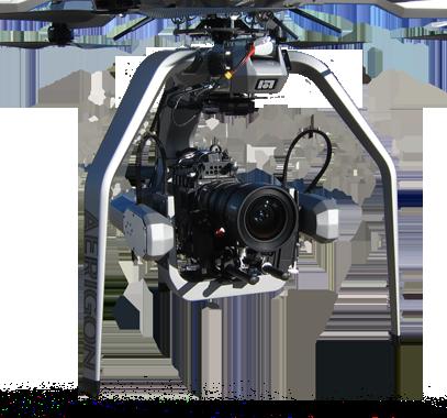 AERIGON Camera Gimbal + DOMINION Gimbal/Camera Controller