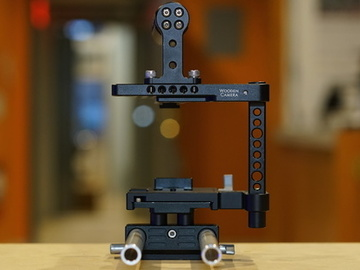 Rent: Wooden Camera A7SII Cage with Rods